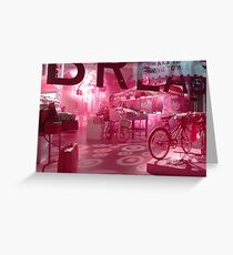 Target breast cancer fundraiser Greeting Card