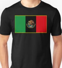 Afro Mexican Flag T-Shirt