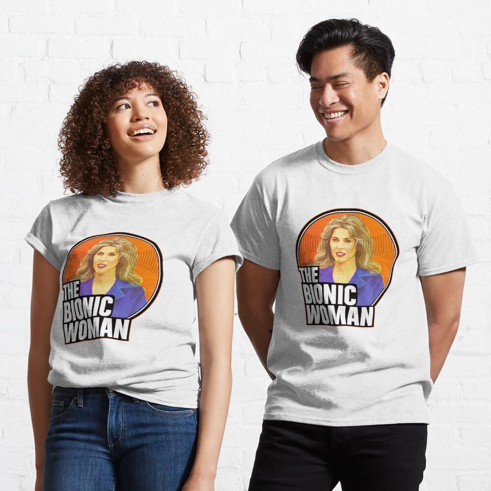 """Bionic Woman"" T-shirt by superiorgraphix | Redbubble"