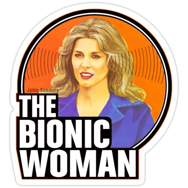 """Bionic Woman"" Stickers by superiorgraphix 
