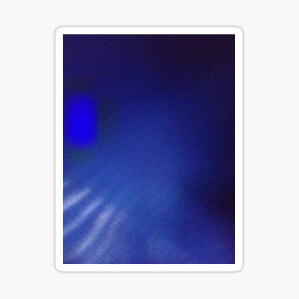 Cobalt Blue Color Sticker