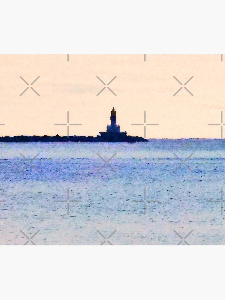 Lighthouse On Lake by perkinsdesigns