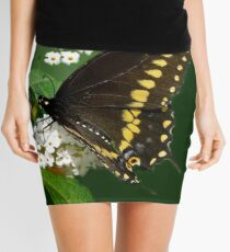 Eastern Black Swallowtail Butterfly Mini Skirt