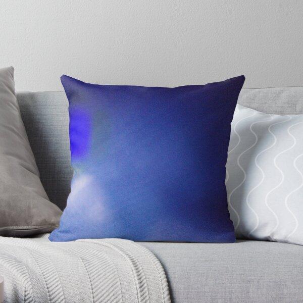 Cobalt Blue Color Throw Pillow