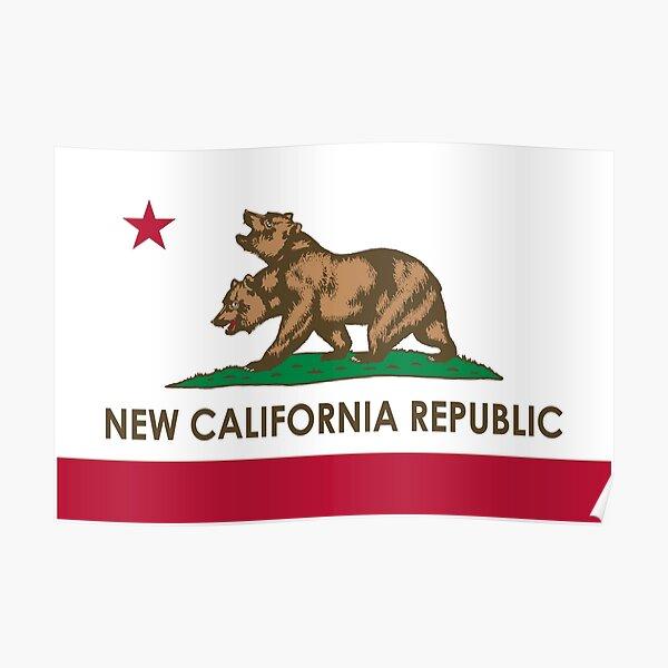 Fallout New California Republic Poster