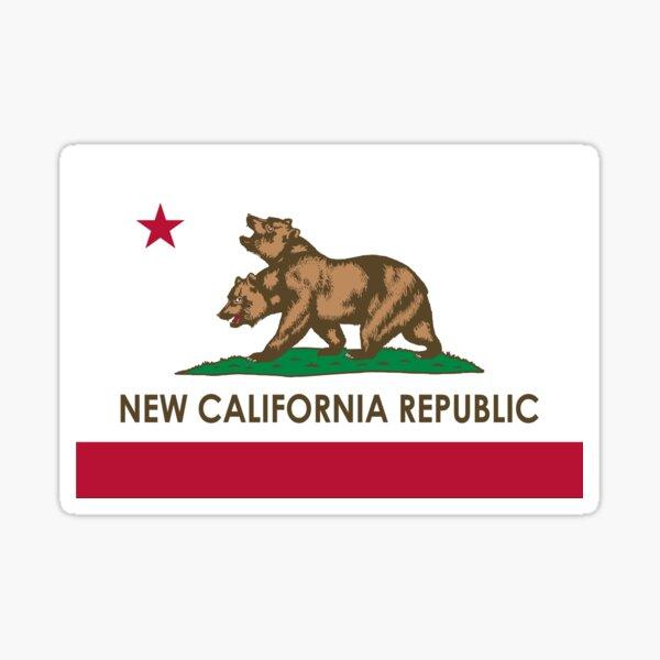 Fallout New California Republic Sticker