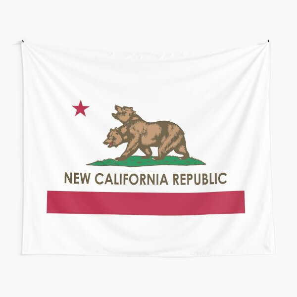 Fallout New California Republic Tapestry