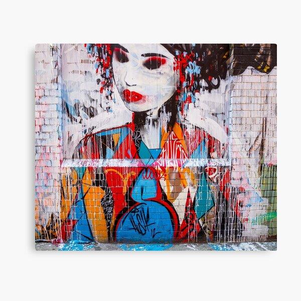 Melbourne Geisha Canvas Print