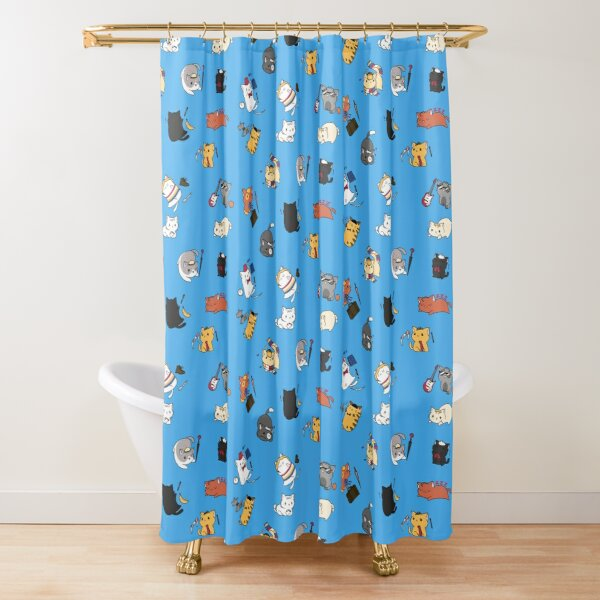 Time Lord Kittens Shower Curtain