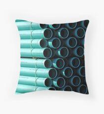 Pipe Patterns Throw Pillow
