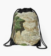 Ivy in the Sun Drawstring Bag