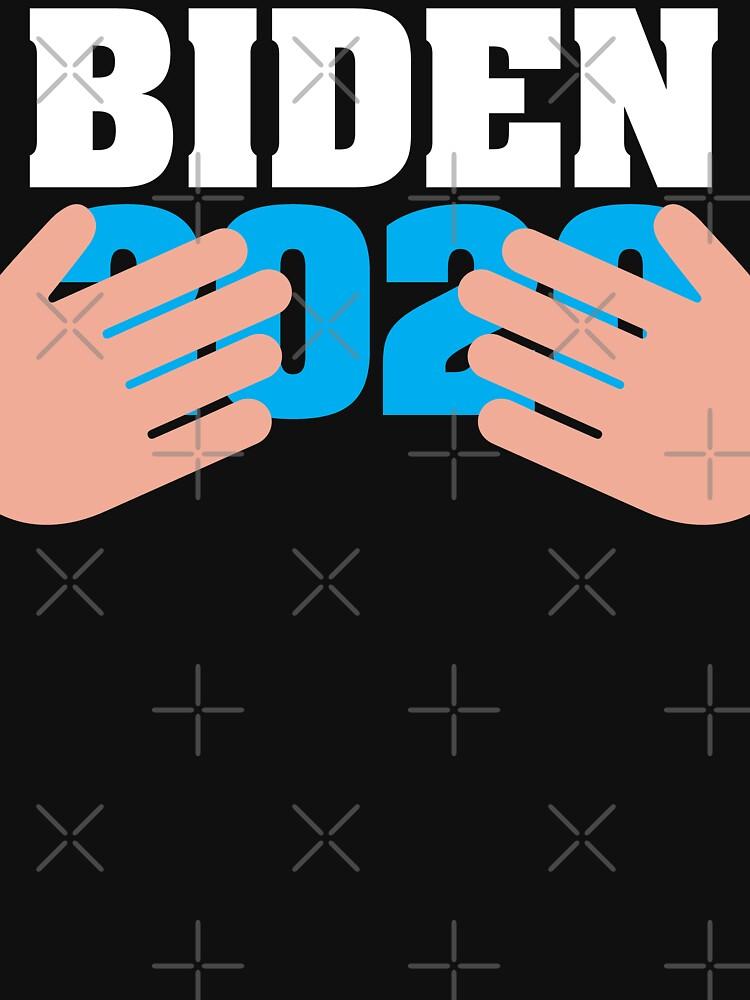 Joe Biden 2020 Hands - Conservative Republican by brian60174
