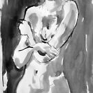 figure-nude by Loui  Jover
