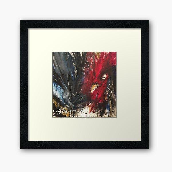 Rooster 2 Framed Art Print