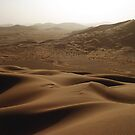 Deep desert scenes by Peter Doré