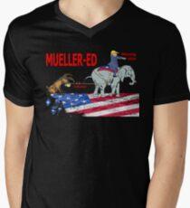 Mueller-ed Men's V-Neck T-Shirt