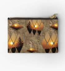 Evening Glow Zipper Pouch