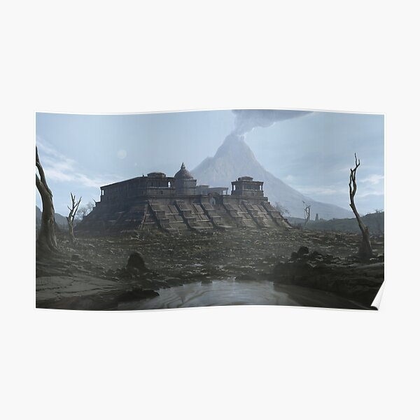 Peaceful Waters Poster