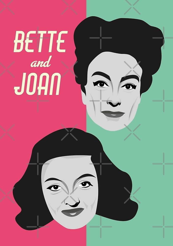 Bette and Joan by gregs-celeb-art