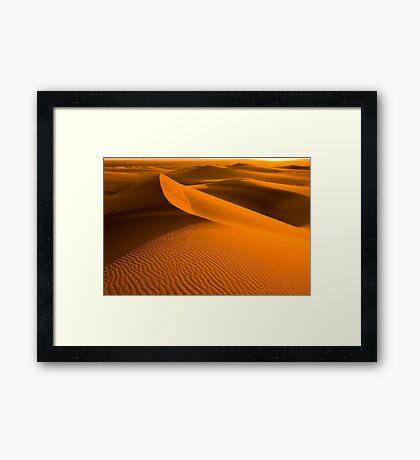 Arabian Sunset Framed Print