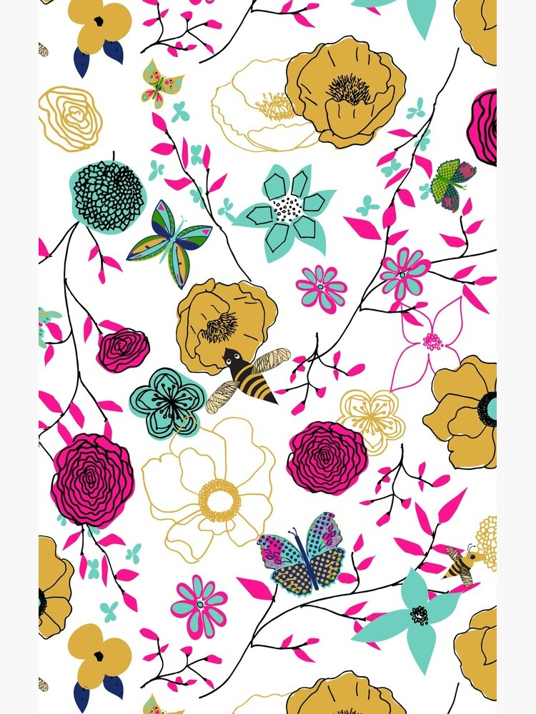 Bees and Butterflies by Stasiajahadi
