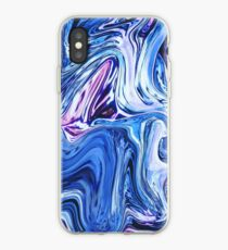 Ocean Swirls - Blue Planet Abstract Modern Art iPhone Case