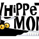 «Whippet mamá (perro de la vaca)» de RichSkipworth