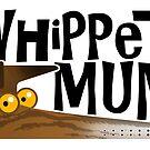Whippet Mum (dunkel gestromt) von RichSkipworth