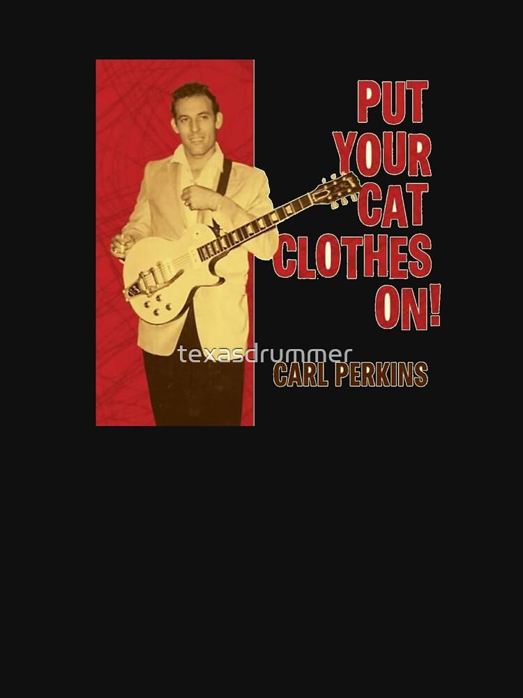 Carl Perkins by texasdrummer