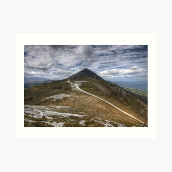 Croagh Patrick view Art Print