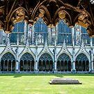 Great Cloister at Canterbury Cathedral, Kent, England by Erwin G. Kotzab