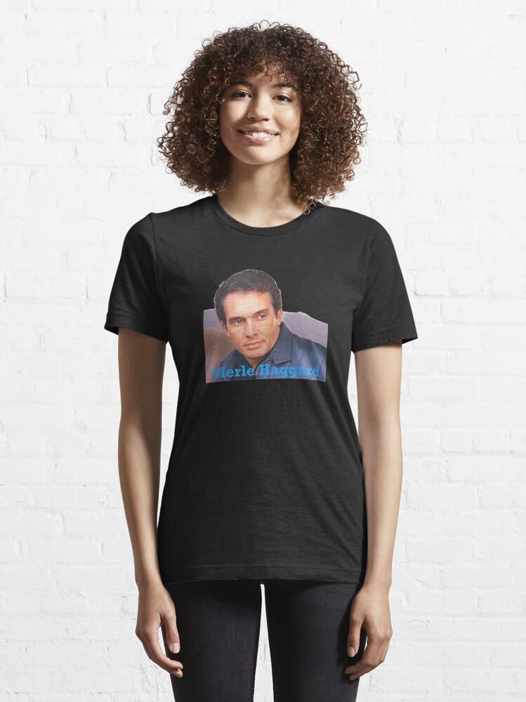 Alternate view of Merle Haggard Essential T-Shirt