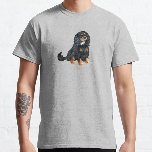 Cavalier King Charles Spaniel (black and tan) Classic T-Shirt