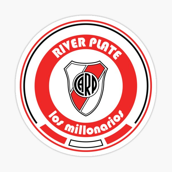 Superliga - Team River Plate Pegatina