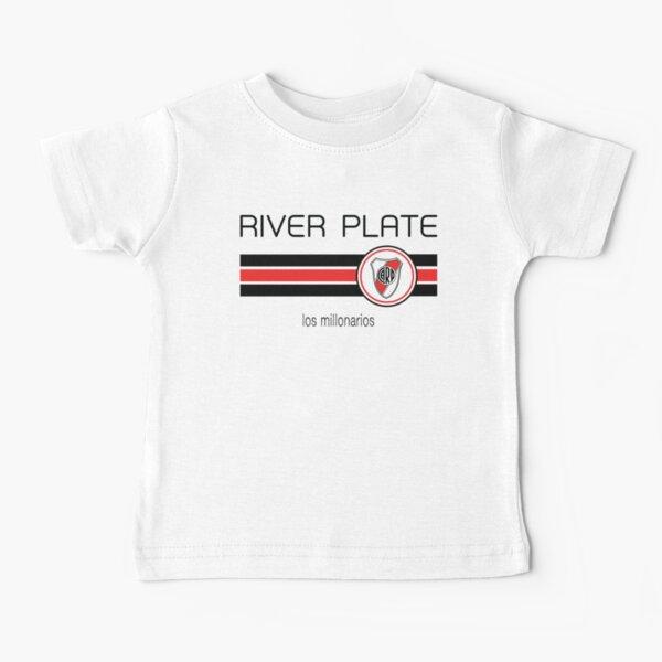 Superliga - River Plate (Casa Blanca) Camiseta para bebés
