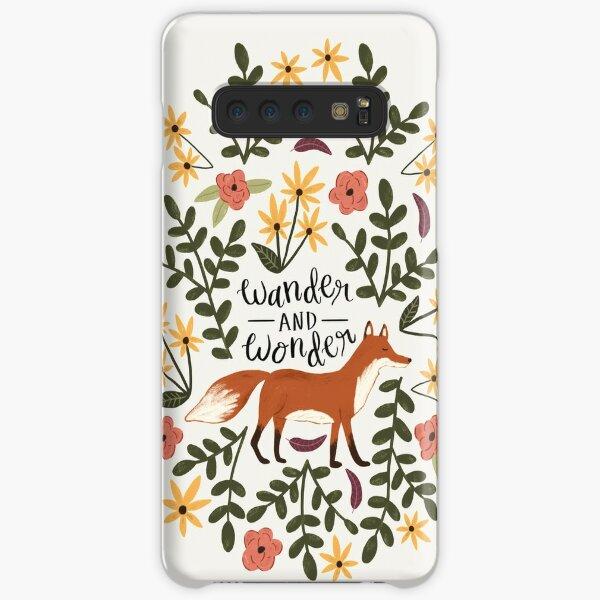 Fox and Florals - Wander and Wonder Samsung Galaxy Snap Case