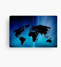 Clear Earth Canvas Print