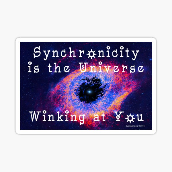 Synchronicity Sticker