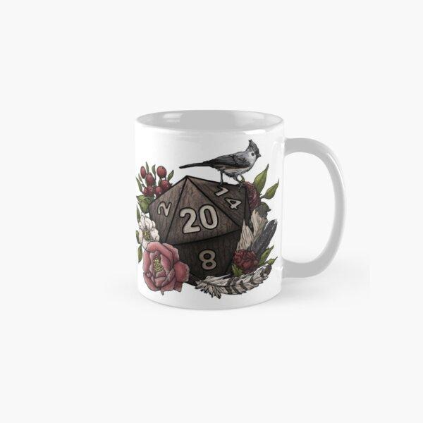 Druid Class D20 - Tabletop Gaming Dice Classic Mug