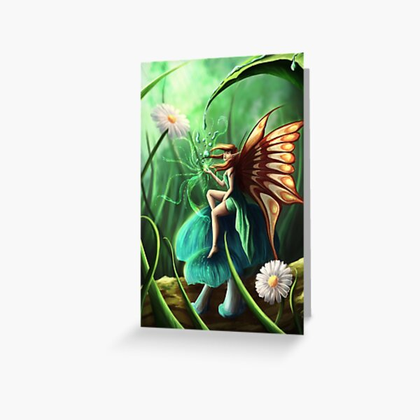 Water fairy Greeting Card