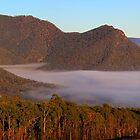 Dawns inland Sea by Donovan Wilson