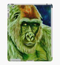 Grüner Gorilla iPad-Hülle & Klebefolie