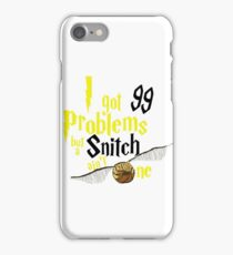 Badger Problems iPhone Case/Skin