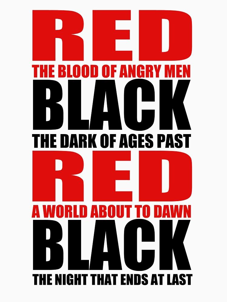 Red & Black | Unisex T-Shirt