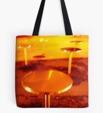 city mushrooms, night type Tote Bag