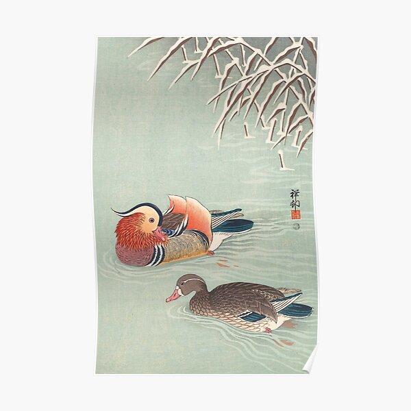 Mandarin Duck by Ohara Koson Poster