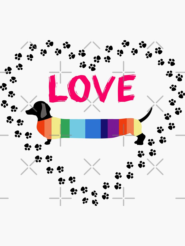 Love Dachshunds by tribbledesign