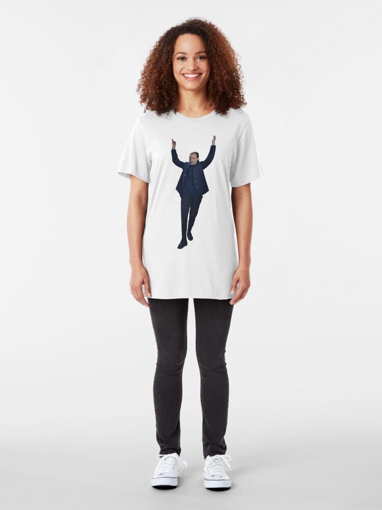 Alternate view of Villanelle  Slim Fit T-Shirt