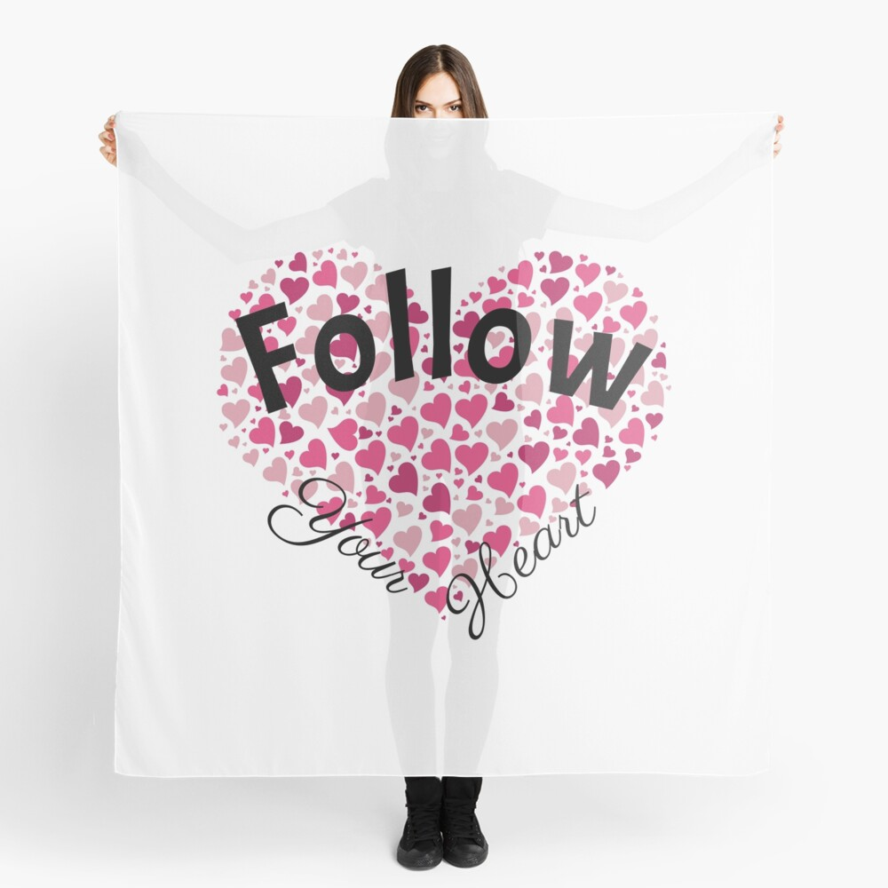 Follow Your Heart Scarf
