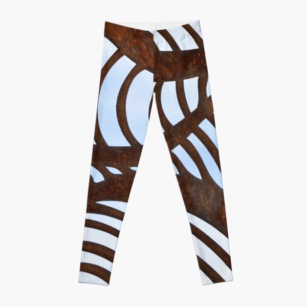 Happy Patterns Not So Zebra Leggings